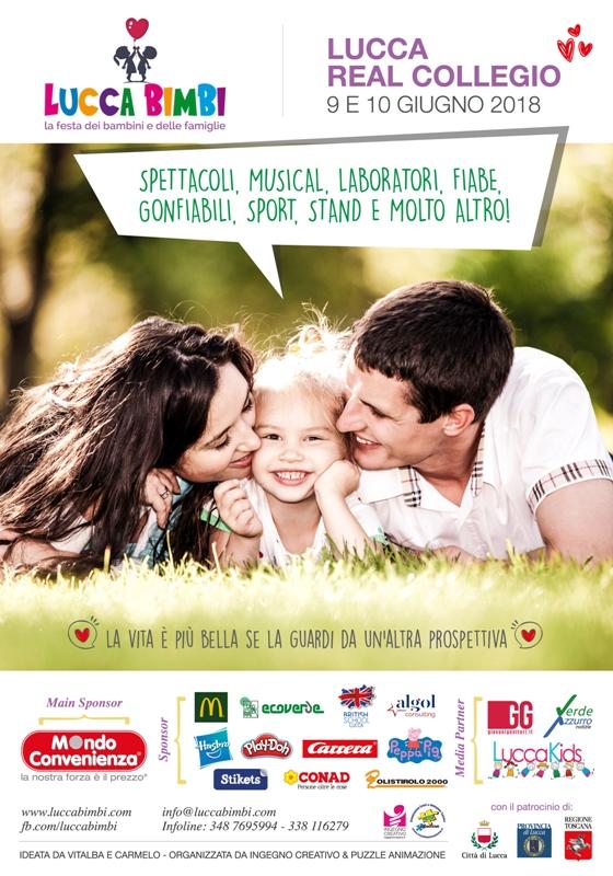 Lucca Bimbi: torna al Real Collegio la più grande ed unica manifestazione in centro città dedicata ai bambini e alle famiglie