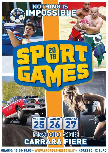 Arriva a Carrara Fiere Sport Games: Sport senza limiti