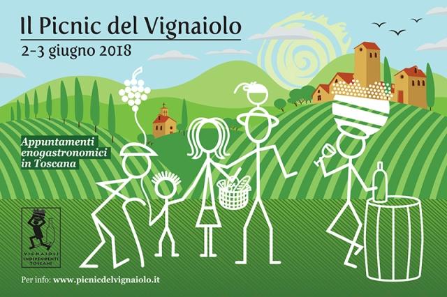 Pic-nic del Vignaiolo la degustazione è tra i filari della Toscana