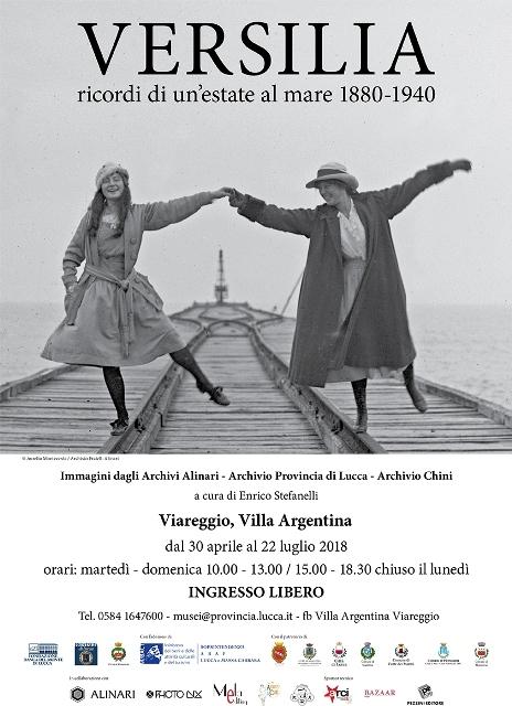 A Villa Argentina la mostra fotografica: Versilia – ricordi di un'estate al mare 1880-1940