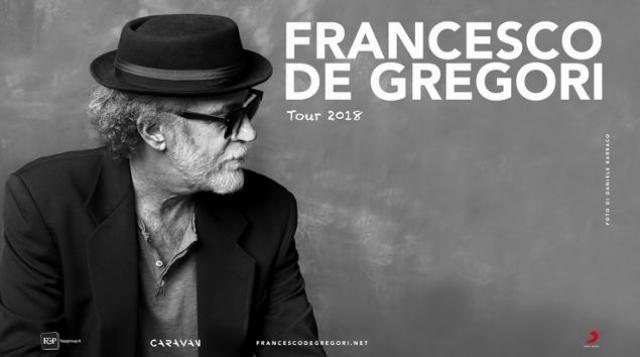 De Gregori ad agosto sarà in Toscana, con il suo Tour 2018, due le date in programma: Forte dei Marmi e Castiglioncello