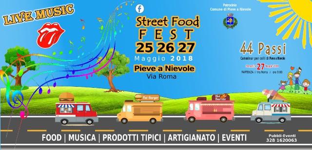 Pieve a Nievole ospita Street Food Fest, il meglio del cibo da strada, con musica e spettacoli