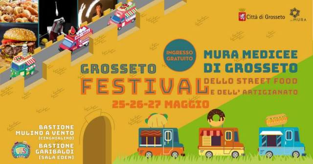 1° Edizione Grosseto Festival dello Street Food e dell'Artigianato
