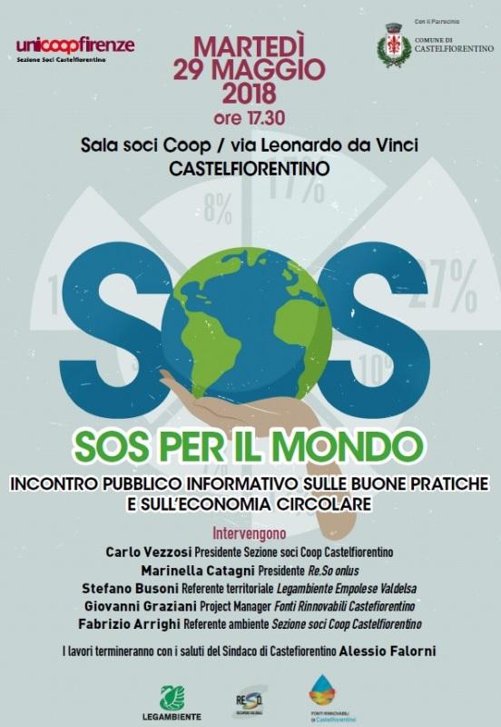 SOS per il mondo, Unicoop in prima linea nella difesa dell'Ambiente a Castelfiorentino
