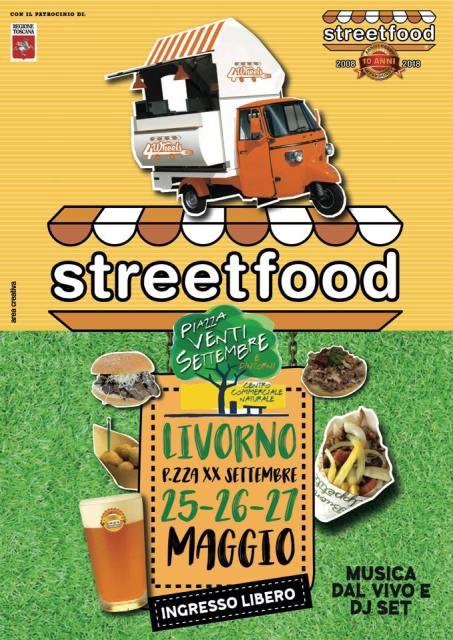 Tre giornate di Streetfood 4 Wheels in piazza XX Settembre