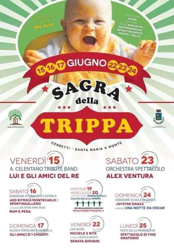 Sagra della Trippa a Cerretti Santa Maria a Monte