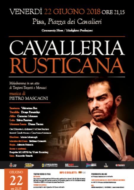 Cavalleria Rusticana, il capolavoro di Mascagni in Piazza dei Cavalieri