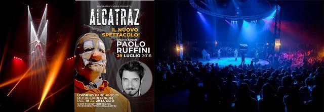 Il Circo Alcatraz sarà a Livorno per un nuovo spettacolo