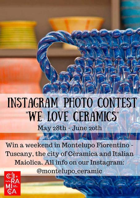 We Love Ceramics il contest fotografico di Instagram