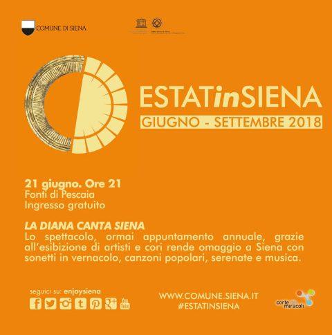 EstatinSiena il grande cartellone di eventi per senesi e turisti, tra concerti, spettacoli teatrali, danza, mostra e rassegne