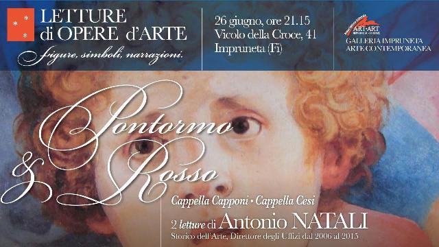 Letture di opere d'Arte con Antonio Natali: approfondimento su Pontormo e Rosso