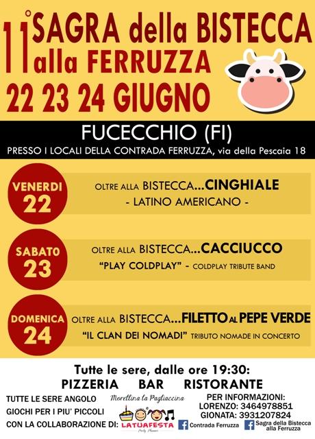 Sagra della Bistecca alla Ferruzza 11^ edizione