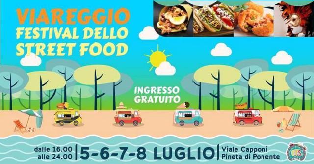Festival dello Street Food nella Pineta di Ponente a Viareggio