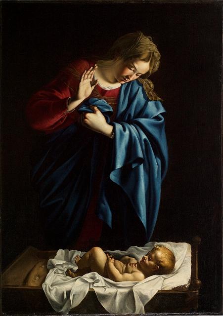 Orazio Lomi Gentileschi La Madonna in adorazione del Bambino, un capolavoro ritrovato al Museo delle Sinopie di Pisa