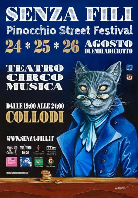 Senza Fili Pinocchio street Festival: teatro, musica, circo con 50 imperdibili spettacoli