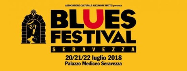 Seravezza Blues Festival 2018, super ospiti Dan Nash, Nick Becattini e Zac Harmon