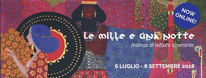 Le Mille e una notte raccontate da Milena Vukotic, Iaia Forte, Drusilla Foer,  Chiara Francini, Silvia Guidi, Sandra Garuglieri