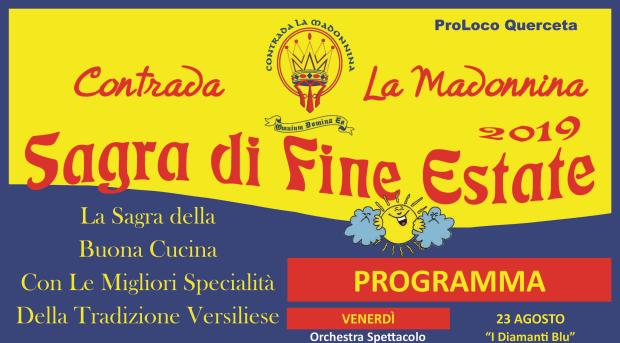 Sagra di Fine Estate a Querceta 2019