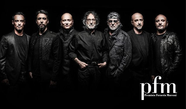 PFM Premiata Forneria Marconi in concerto con Emotional Tattoos Tour presso FestAmbiente a Rispescia