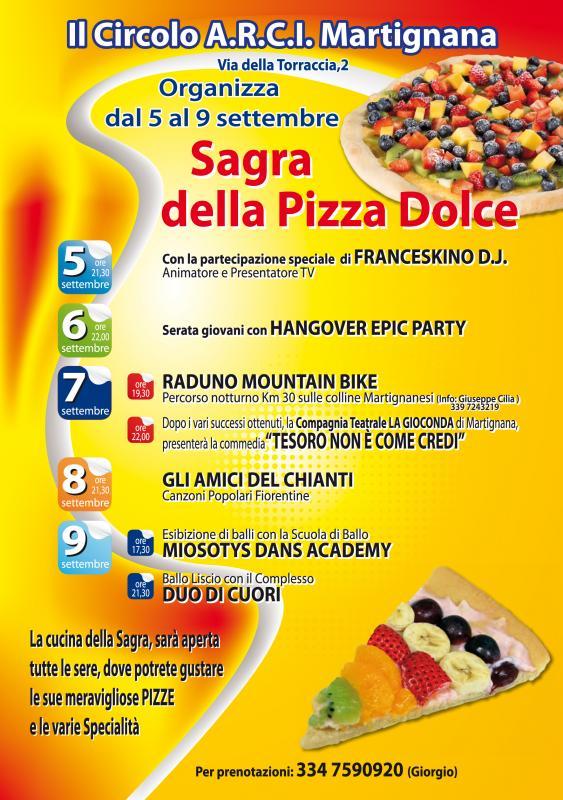 Sagra della Pizza Dolce a Martignana di Montespertoli