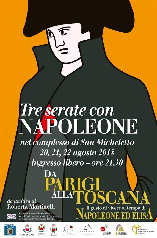 Conversazioni Napoleoniche 2018 12^ Edizione a San Micheletto Centro Storico di Lucca