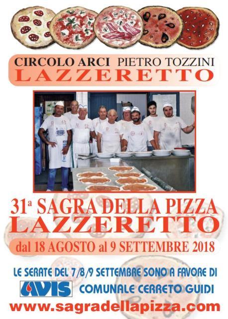 Sagra della Pizza Lazzeretto edizione 2018