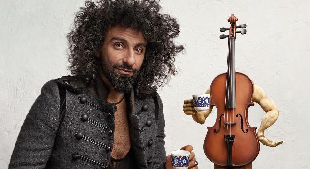 Ara Malikian il violinista armeno/libanese in concerto all'Obihall