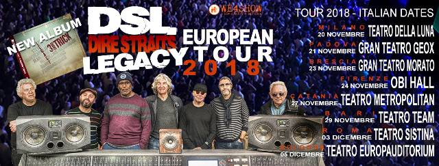 Dire Straits Legacy in concerto all'Obihall di Firenze