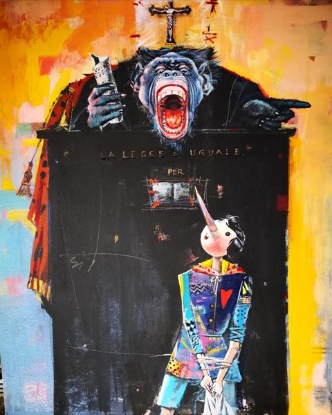 Pinocchio con il cuore: 16 opere di Madiai in Mostra al Parco di Pinocchio