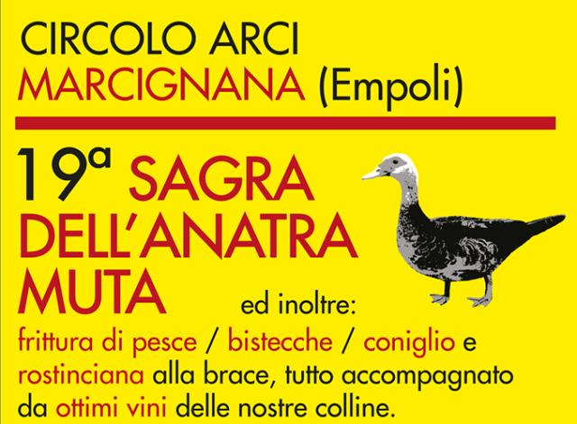 Sagra dell'Anatra Muta a Marcignana 19^ Edizione 2018