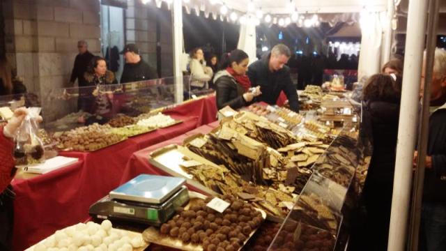 Festa del Cioccolato Artigianale con maestri cioccolatieri di regioni diverse in Piazza Cavour a Livorno