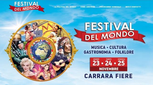 Festival del Mondo a Carrara