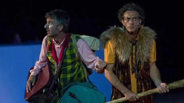 Le Rane di Aristofane con Salvo Ficarra e Valentino Picone al Teatro Excelsior di Empoli