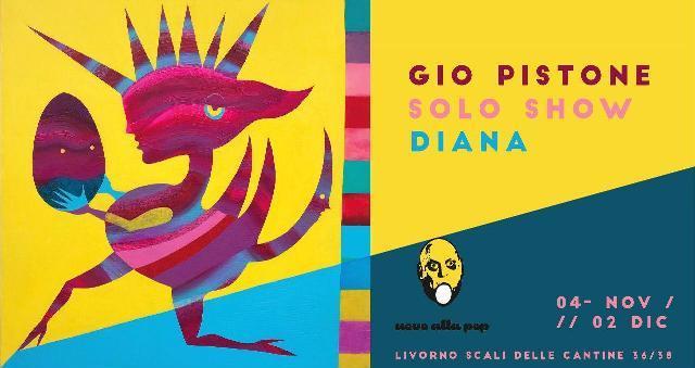 Gio Pistone arriva da Uovo alla Pop, inaugura il primo festival dei street art di Livorno