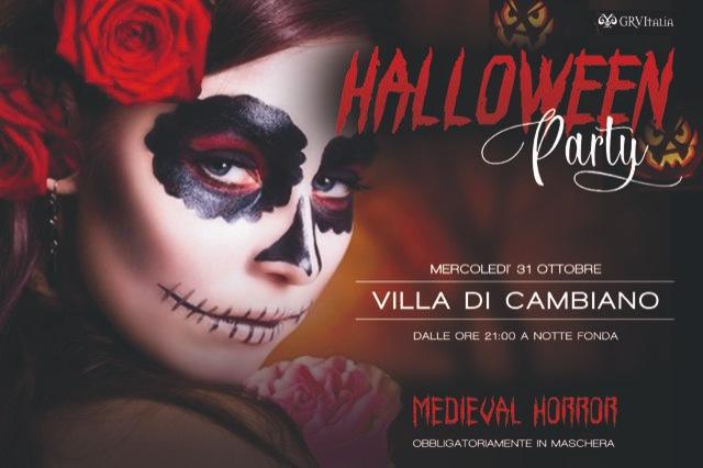 Halloween Party alla Villa di Cambiano