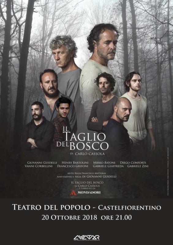 Debutto di stagione con Il taglio del bosco al Teatro del Popolo di Castelfiorentino