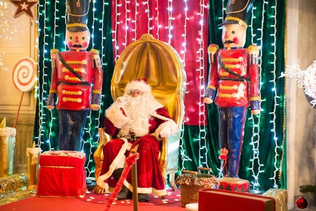 Il Piccolo Regno di Babbo Natale a Villa Bottini a Lucca