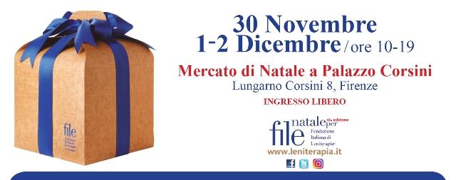 Nataleperfile, il mercato di Natale all'insegna della solidarietà a Palazzo Corsini