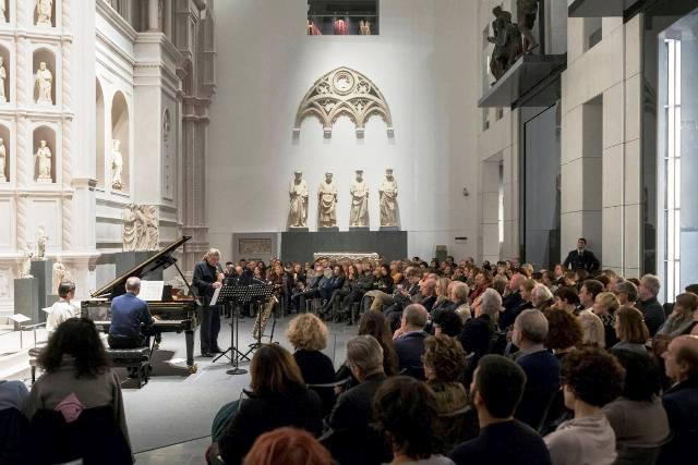 Note al Museo rassegna di concerti nella spettacolare Sala del Paradiso del Museo dell'Opera del Duomo