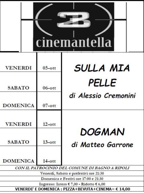 Bagno A Ripoli Sulla Mia Pelle E Dogman Al Cinema