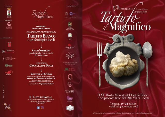 Tartufo il Magnifico a Volterra la XXI edizione della Mostra Mercato del Tartufo Bianco e dei prodotti tipici locali