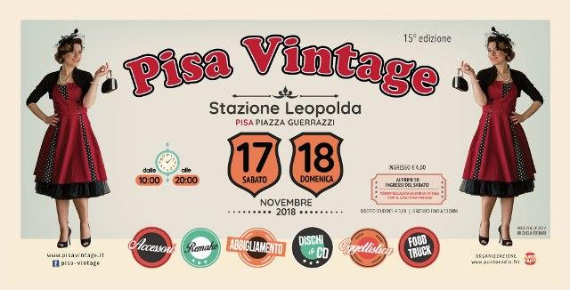 Pisa Vintage 15^ edizione alla Stazione Leopolda