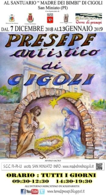 Presepe Artistico di Cigoli XVIII edizione