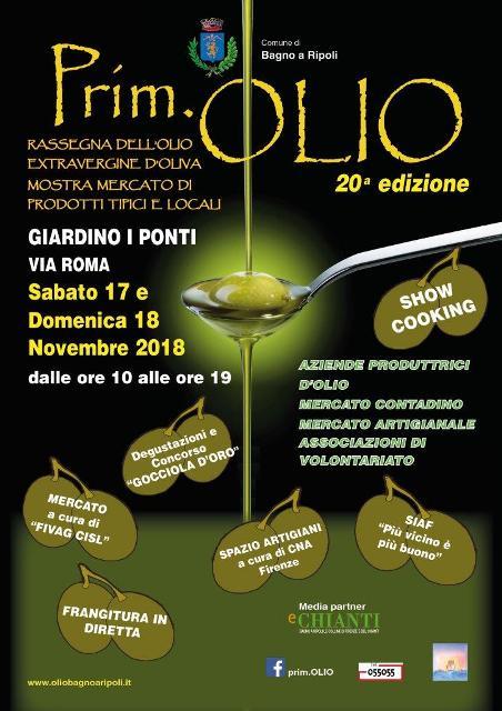 Oro verde in festa con Prim.Olio, show cooking, degustazioni e frangitura in diretta a Bagno a Ripoli