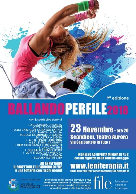 Ballandoperfile 9^ edizione al Teatro Aurora di Scandicci