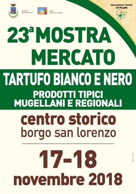 Mostra del Mercato del Tartufo Bianco e Nero a Borgo San Lorenzo