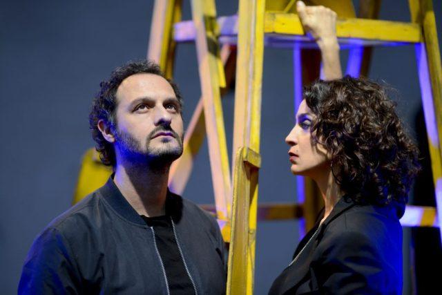 Lampedusa con Donatella Finocchiaro e Fabio Troiano al Teatro Puccini