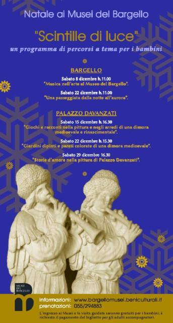 Visite Natalizie per bambini e famiglie ai Musei del Bargello