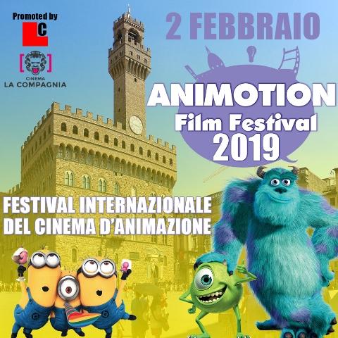 Animotion Film Festival dedicato al cinema di animazioni 2D, 3D e alla tecnica dello stop motion