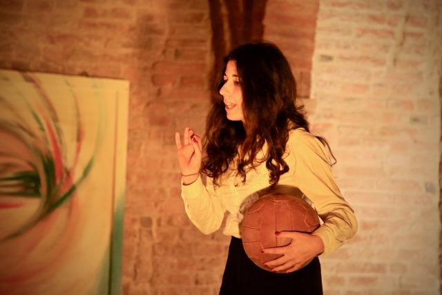 Anna Frank giocava a calcio? Carlo Castellani, Bomber dell'Empoli con Erika Casula al Teatro Il Momento